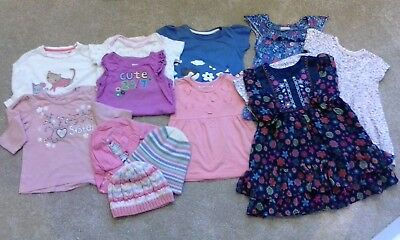 Baby girl clothes bundle 12-18 months, some items new & never worn!!!