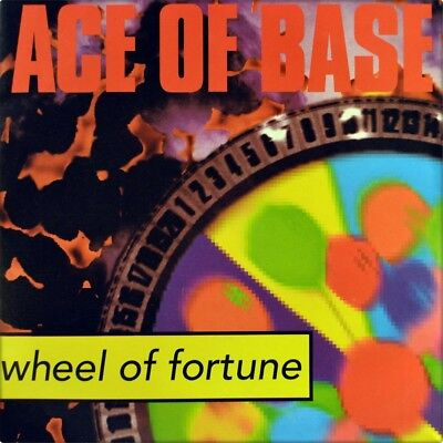 "7"" ACE OF BASE Wheel Of Fortune / Clubmix METRONOME Euro-House D 1993 like NEW!"