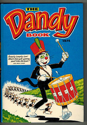 DANDY BOOK 1974 vintage comic annual - VG