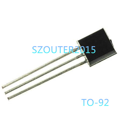 50PCS BC549 NPN Transistor 0.1A 30V Low Noise Amplifie TO-92 BC549B NEW