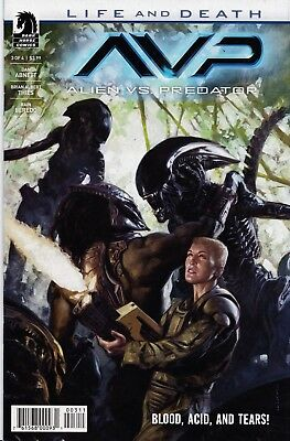 ALIENS VS PREDATOR Life and Death (2017) #3 (of 4) New Bagged