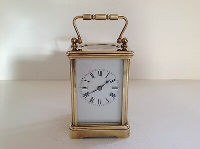 Miniature French Carriage Clock From P Dubois Paris Full Service Dec. 2017