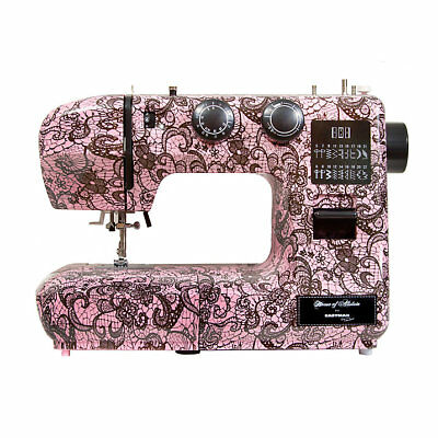 Pink Lace Print Eastman Tailor 22stitch Sewing Machine