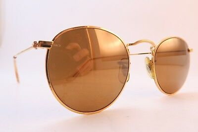Vintage B&L Ray Ban sunglasses diamond hard etched lens Mod W1911 XRAW USA