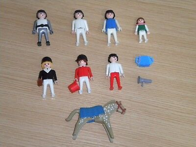 Playmobil- Super Deals (Lot 5) People + Rare Greek Lyra Horse etc, Superb Lot 5*