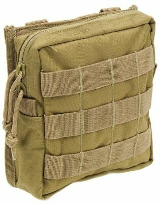 Modular MOLLE Utility Pouch-Coyote Tan