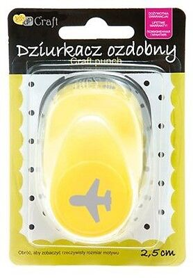 Motivstanzer Motivlocher Flugzeug Airplane 1,6cm Craftpunch dpCraft JCDZ-110-387