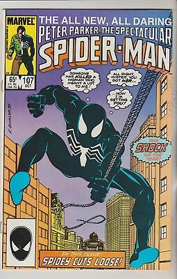 *** Marvel Comics Spectacular Spider-Man #107 Vf ***