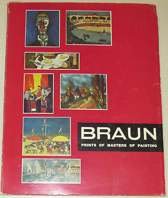 Braun Prints of Masters of Painting, prehistoric art to Picasso, reproductions