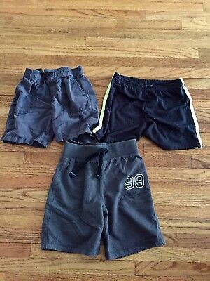 4T Boys Shorts Mix Lot Of 3 Carters Okie Dokie Just One You