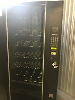 3 Used Working Snack And Beverage Vending Machines