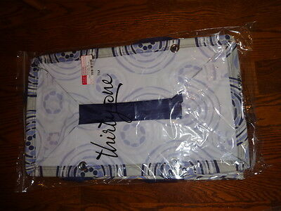 THIRTYONE Thirty One 31 Gifts DELUXE UTILITY TOTE Geo Pop BRAND NEW