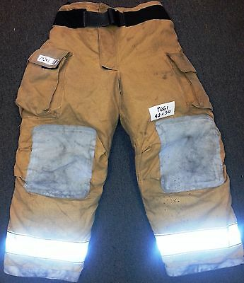 42x30 Pants  Trousers Firefighter Turnout Bunker Fire Gear Globe Gxtreme P661