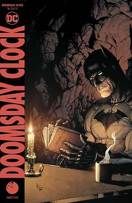 Doomsday Clock #3 Of 12 Variant Ed Dc Comics Nm