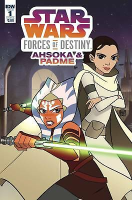Star Wars Adv Forces Of Destiny Ahsoka & Padme Cover A Idw Publishing Nm