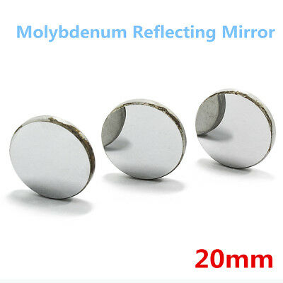 3Pcs 20mm Mo Mirrors Molybdenum CO2 Laser Reflector for 150W Cutter Engraver