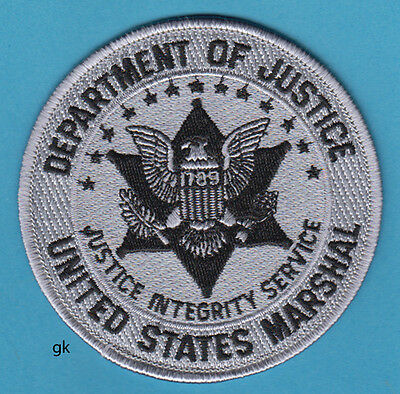 Department of Justice US Marshal Sticker Military Armed Forces Decal M277