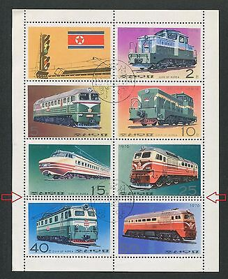 KOREA EISENBAHN 1976 ABART !! ERROR !! TRAIN RAILWAY LOK d6630