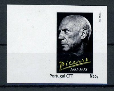 PORTUGAL PRIVAT-MARKE PABLO PICASSO PAINTER CUSTOM STAMP ONLY 10 MNH !! h1845