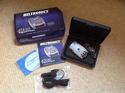 Beltronics RX65 professional series radar laser detector and extension cable