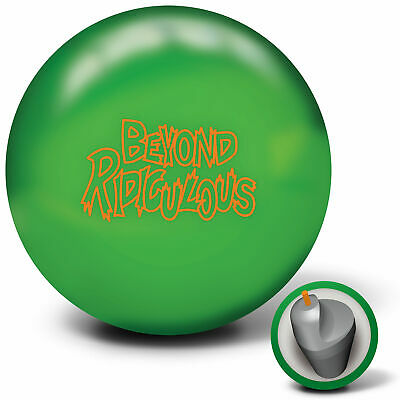 Bowling Ball Radical Beyond Ridiculous green 12-16 lbs Kern asymmetrisch Reaktiv