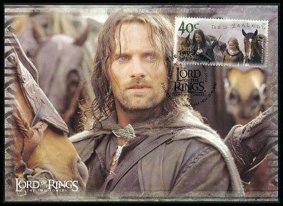 NZ MK HERR DER RINGE / LORD OF THE RINGS 2 TOWERS CARTE MAXIMUM CARD MC CM m430