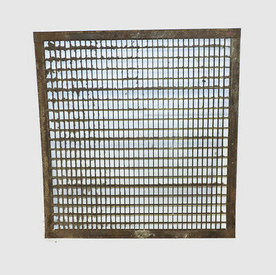 Huge Antique Iron Metal Heating Return Register Vent Grate 30 X 32
