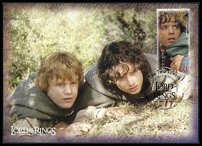NZ MK HERR DER RINGE / LORD OF THE RINGS 2 TOWERS CARTE MAXIMUM CARD MC CM m434