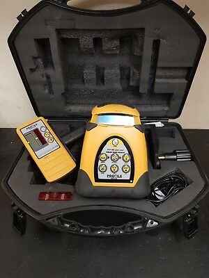 PLP 190 Self Levelling Rotary Laser Level. 12 months calibration included.