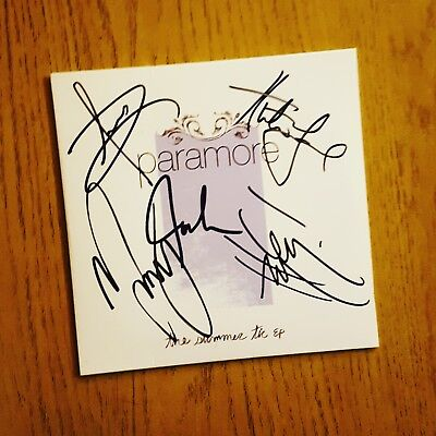 Paramore - Summer Tic EP (rare & signed)