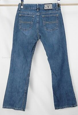 Women's Twenty X 20X Wrangler Jackson Low Rise Slim Fit 100% Cotton Jeans 7/8x30
