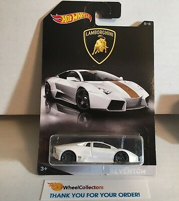 Lamborghini Reventon White Hot Wheels Lamborghini Series Hb24