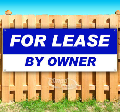 FOR LEASE BY OWNER Advertising Vinyl Banner Flag Sign USA