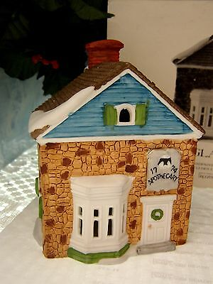 "DEPARTMENT 56 ""APOTHECARY"" 65307 RETIRED New England Village Porcelain"
