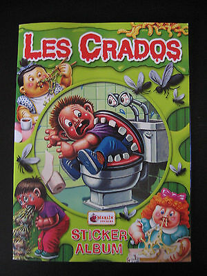 Garbage Pail Kids Les Crados New Empty Album Missing Poster 2004 Merlin