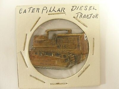 Vintage CATERPILLAR Diesel Tractor Advertising Medal Peoria Illinois