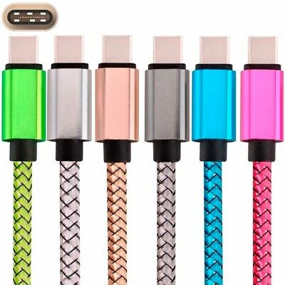 USB-C Nylon Braided Rope Type-C Charger Cable Cord for Samsung Galaxy S8 Note 8