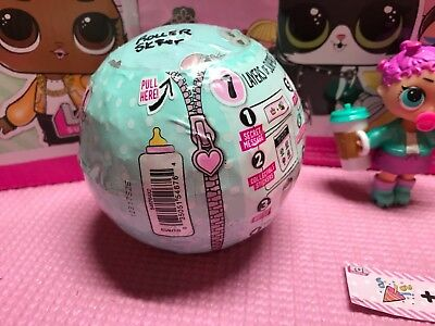 LOL L.O.L. LIL Surprise Dolls ~ SET ~ ROLLER SK8ER & ROLLER KIT-10 ~ SEALED!