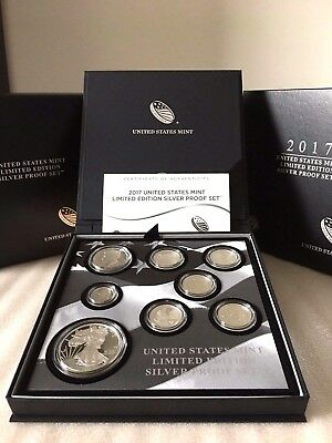 2017 S Mint Limited Edition Silver Proof Set with the 2017-S Proof Eagle - 17RC
