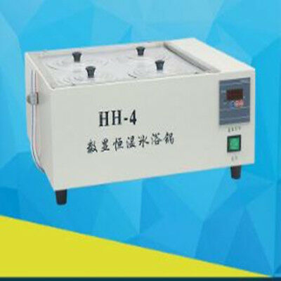 HH-4 Digital Lab Thermostatic Water Bath Four Holes Electric Heating 220V/110V