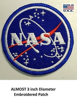 **love It Or Its Free** Nasa Embroidered Patch, Iron On, Free Shipping