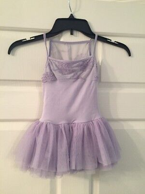 Bloch Girls Dance Leotard Size 4/6 Lavender
