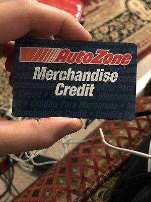 $119 Auto Zone Merchandise Credit Gift Card