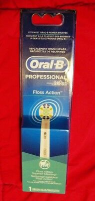 Floss Action Replacement 1 Brush Head Professional -Braun