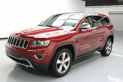 2014 Jeep Grand Cherokee Limited Sport Utility 4-Door 2014 JEEP GRAND CHEROKEE LTD SUNROOF NAV REAR CAM 30K #519445 Texas Direct Auto