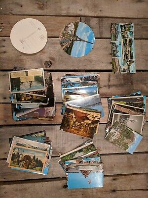 Vintage lot of postcards ~ 160+ Random Postcards from the 1920-'70s - Historic