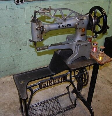Singer 29k71 short arm patcher.  Used for shoe repair.