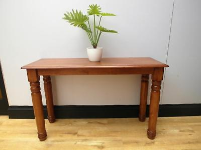 Solid TIMBER Hall CONSOLE Table DISPLAY 120cm L QZZQ Adelaide