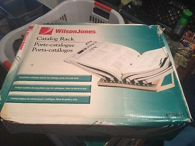 Wilson Jones - Catalog Rack - Brand New (damaged boxes) #CR6-15