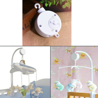 Music Songs Rotary Baby Mobile Crib Bed Bell Toy Music Box Newborn Bell Crib Toy